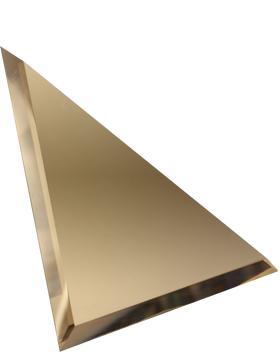 БУ-30-Зеркальная плитка бронза угол 300х300мм фацет 10мм