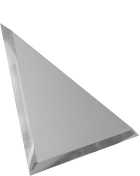 СМУ-25-Зеркальная плитка серебро матовый угол 250х250мм фацет 10мм