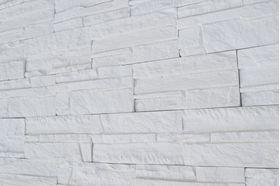 ГП 100-Гипсовая плитка «СКАЛА» Белый 200*96*12 мм