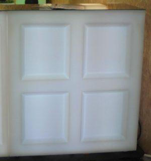9102-Барная стойка BAR Прямой сегмент 1000х450х1100мм Белый 220v