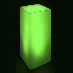 11703-Световая тумба HIGH 300х300х700мм RGBLED 220v