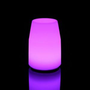 6104-Светильник настольный LANTERN 135х100х185мм RGBLED Аккумулятор 12v