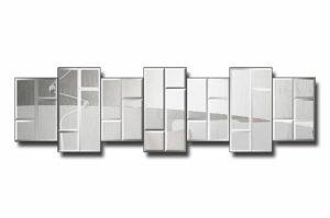 3648Ц7-1-Зеркальное модульное панно Женева-1