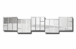 36КЭ5-3-Зеркальное модульное панно Мюнхен-3