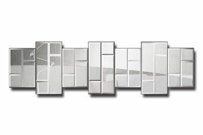зеркальное модульное панно Лондон-1