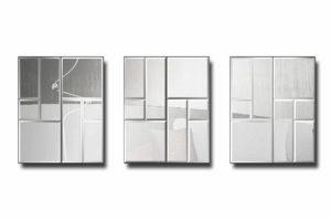 модульное зеркальное панно Сидней 1-3