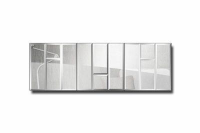 зеркальное модульное панно Лондон-4