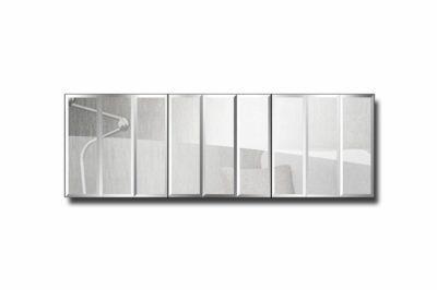 зеркальное модульное панно Лондон-5