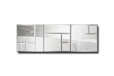 зеркальное модульное панно Лондон-2