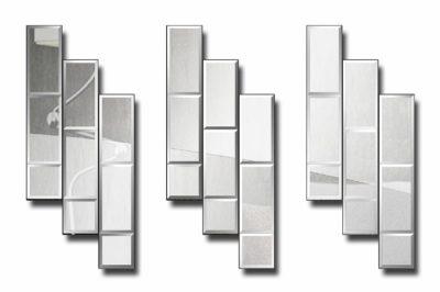 модульное зеркальное панно Чикаго 2-3