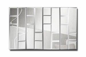 60П4-1-Зеркальное модульное панно Мадрид-1