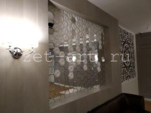 Индивидуальное изготовление зеркальной шестиугольной плитки- часть 2