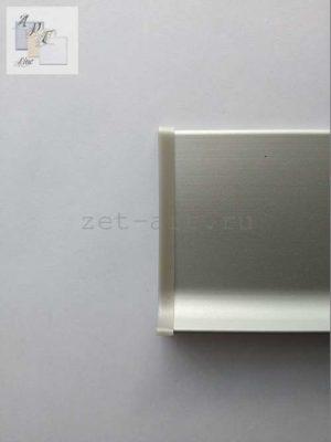 ZGL-1 Заглушка левая ПВХ для плоского плинтусаЦена указана за 1 шт.