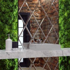 IN1 — Зеркальное панно индивидуального размера 1150х2250мм