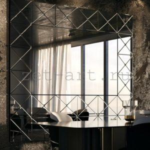 IN8 — Зеркальное панно индивидуального размера 2360х2140мм