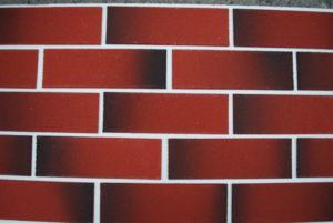 ГК-006-Гибкий кирпич «Красный с опалиной» 250х80х5 мм