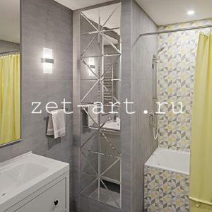 IN23 — Зеркальное панно индивидуального размера 2300х570мм