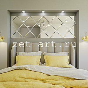 IN7 — Зеркальное панно индивидуального размера 2180х750мм